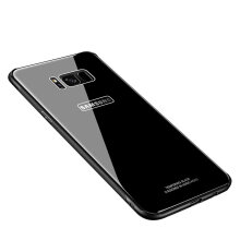 VEN Samsung Galaxy S8 Case Tempered Glass Back Cover