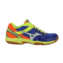 MIZUNO CYCLONE SPEED - SURF THE WEB   WHITE   SAFETY YELLOW bfc37e55d0