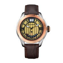 Moment Watch Guy Laroche SG20103 Jam Tangan pria - Leather Strap - brown Brown