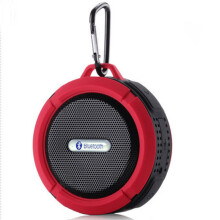 Vinmori Wireless Bluetooth Waterproof Speaker Portable Mini Speakers Outdoor Subwoofer Stereo Hoparlor Support TF Card Red