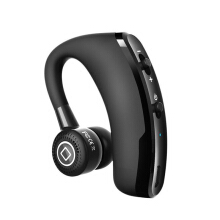 T-max Business Bluetooth Earphone Wireless Headset For Drive With Mic Voice Control Black