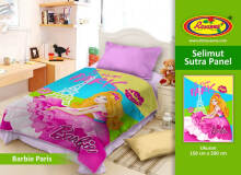 Selimut Rosanna Sutra Panel 150x200cm Barbie Paris - Cream