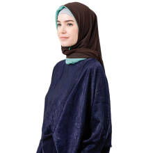 TATUIS Damour 060 Scarf - Dark Brown-Tosca [All Size]