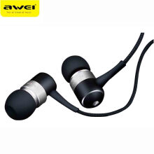 OAC-AWEI ES Q3 Wired Headphone Stereo In-Ear Earphone Super Bass HIFI Sound Headset For Phone MP3 MP4 Players