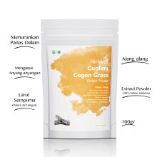 HERBILOGY Refreshing Cogon Grass Extract Powder (ALANG-ALANG) - 100 Gr