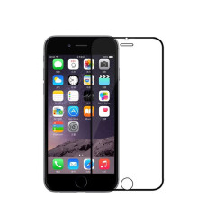 BESSKY Front Tempered Glass Film Screen Protector For iPhone 6 Plus 6S Plus 5.5 Inch_ Black