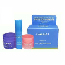 Laneige Water Sleeping Mask, Eye Sleeping Mask dan Lip Sleeping Mask