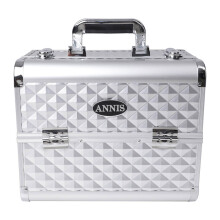 ANNIS Make Up Box 740 - Silver Diamond