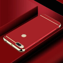 JEREFISH Xiaomi Mi A1 Case Matte Metal 3 in 1 Electroplate Frame Cover for Xiaomi Mi A1 Case
