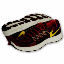 RECORD Athena Men Running Shoes Black Red