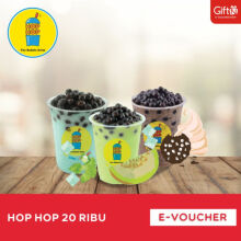 Hop-Hop Voucher Value Rp 20.000