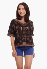 Modalogie ELAINE BIRD Dark Brown All Size