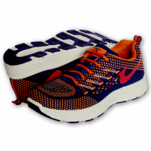 RECORD Athena Men Running Shoes Blue Orange