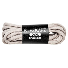KIPZKAPZ O3 Oval Shoelace - Grey [6mm]