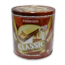 KHONG GUAN Classic Chocolate Wafer Bulat 310 gr