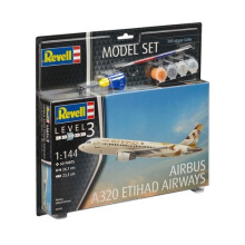 REVELL Model Set Airbus A320 Etihad - Plastic Model - Multicolor