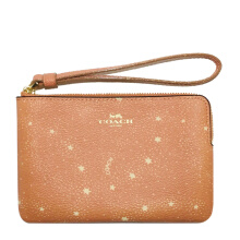 Coach Women's Light Brown Star Wallet F29405IMFC5