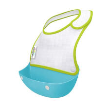 Brother Max 2 Catch & Fold Baby Generic Bibs - Blue Green
