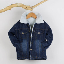 BESSKY Toddler Kid Baby Boy Girl Clothes Warm Jeans Denim Coat Jackets Cardigan Outwear_