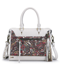 SAKROOTS Seni Satchel in Ruby Spirit Deser