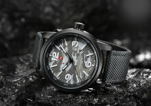 NAVIFORCE Top Brand Watches Men Fashion Nylon Strap Quartz Watch Waterproof Military Sport Clock