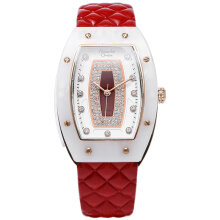Alexandre Christie Original Strap Leather AC2638 - Red White