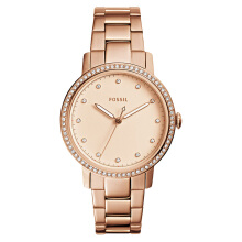 Fossil Ladies Neely Rose Gold Dial Rose Gold Stainless Steel Strap [ES4288]