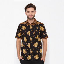 A&D Mens Batik Casual Ms 903 - Black