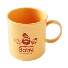 Mother's Corn Baby Self Training Mug Cup Peralatan Makan  - Yellow