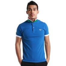 Fredperry Men- Stripped UnderCollar Blue