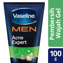 VASELINE Men Active Bright Acne Expert Gel Wash 100g