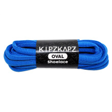 KIPZKAPZ OS1 Oval Shoelace - Blue [6mm]