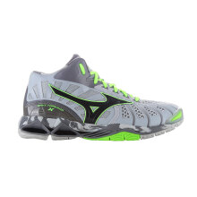 MIZUNO WAVE TORNADO X MID - HIGH-RISE / BLACK / GREEN GECKO