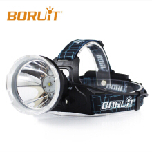 New BORUiT 6000lm Smart B10 XM-L2 LED 3 Modes Headlamp Hunting Camping Fishing Head Torch light Waterproof