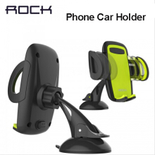 ROCK Mobile Car Phone Holder Stand Adjustable Support 6.0 inch 360 Rotate For Iphone 6 Plus Samsung galaxy note 8 S8 S9 S7 edge Green
