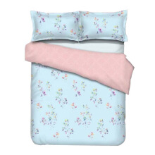 GRAPHIX Regina Bedsheet Set Queen Fitted - 160 x 200 x 40 cm