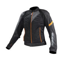 KOMINE JK-098 Bismark Cool Mesh Jaket Touring - Black Orange
