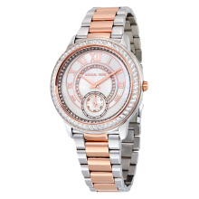 Michael Kors Madelyn Mother of Pearl Dial Two Tone Stainless Steel Ladies [MK6288]