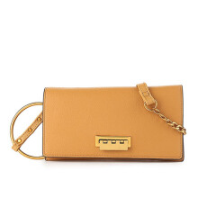 HUER Kaimma Wallet On Chain Clutch - Camel