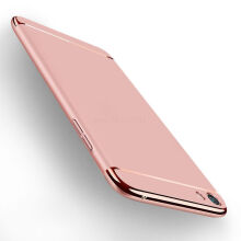 JEREFISH OPPO F3 Plus Case Matte Metal 3 in 1 Electroplate Frame Cover for OPPO F3 Plus Case