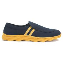 Dr. Kevin Men Casual Shoes 13270 - Black/Yellow