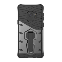 VEN  Samsung Galaxy A8 2018 Case Shockproof Hybrid Rubber Silicone Hard 360 Degree Rotation Phone Cover
