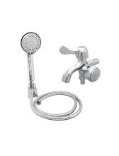 YUTA Kran Double Tap TDOZ dan Shower Set SHO-C