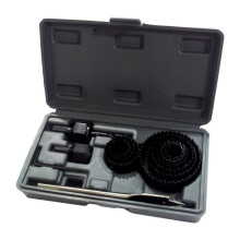 Nankai 19 - 64 mm Mata Bor Holesaw Set 13Pcs