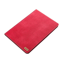 Ins I-199 Denim Core sheer New2017 Apple Ipad 9.7 protective cover case-Red