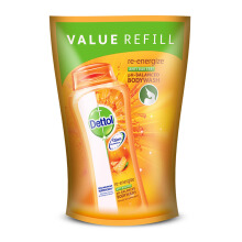 DETTOL Body Wash Reenergize Pouch 410ml