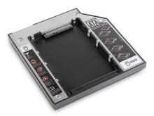 Sata Hard Drive Tipis Hdd Caddy 9mm - Hitam