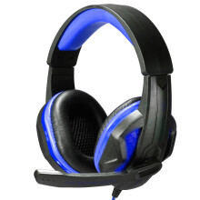BESSKY Surround Stereo Gaming Headset Headband Headphone USB 3.5mm LED with Mic for PC_