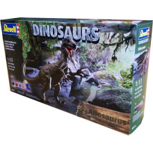 REVELL Allosaurus Diosaurus - Plastic Model - Multicolor