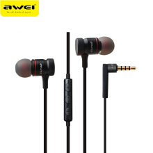 OAC-AWEI ES-70TY In-Ear Earphone Metal Headphones Stereo Headset Heavy Bass